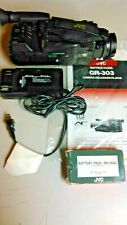 JVC GR-303 CAMERA-RECORDER/PLAYER WITH CHARGER, BATTERIES, SOFT CASE