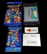 ROCKMAN 7 MEGAMAN Super Famicom Nintendo SNES SFC JAP  Capcom Complete