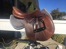 "17"" Butet Saddle, Integrated Panel, Blocks, Gorgeous!"