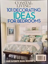 COASTAL LIVING 101 Decorating Ideas For Bedrooms Bunk Rooms 1/15 FREE SHIPPING
