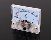 85C1 Voltmeter 0-500 V DC Analog Panel Volt Meter Pointer Voltmeter DC 500V