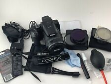 Nikon Coolpix P900 16MP HD 1080p Bridge Camera Flip Screen 83x W/ Extras Tested
