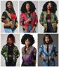 Traditionelle Afrikanische Dashiki Kaftan Jacke Boho Frauen Damen Hippie Mantel