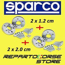SPARCO SPURVERBREITERUNG KIT (2 x 12mm + 2 x 20mm) MIT SCHRAUBEN - BMW 3er E46