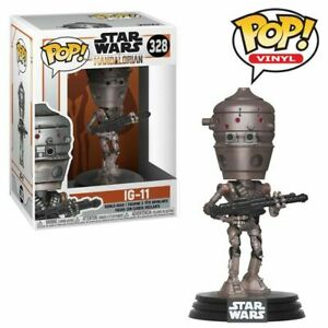 "STAR WARS THE MANDALORIAN IG-11 3.75"" POP VINYL FIGURE FUNKO 328"