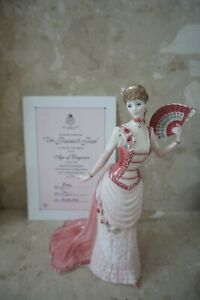 ROYAL WORCESTER THE PAINTED JAN FIGURINE