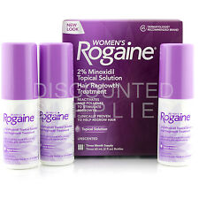 Rogaine For Women 3 Month Supply Hair Regrowth Topical Solution 2% Minoxidil
