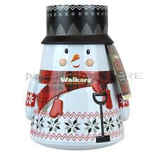 Walkers Mantecadas Muñeco de nieve Estaño 200g Regalo Santa Feliz Navidad Muñeco De Nieve Cumpleaños