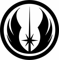 Star Wars Jedi Order Symbol Logo Vinyl Decal Car Bumper Window Sticker Wall Art