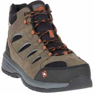 Merrell Men's Windoc Mid Steel Toe Work Safety Boots J17817-Clearance