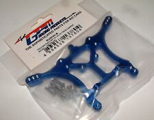 TRAXXAS ELECTRIC RUSTLER  GPM BLUE ALUMINUM REAR SHOCK TOWER  RUS030