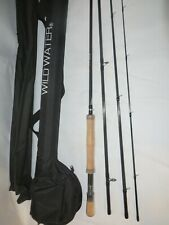 Wild Water Fly Fishing Ax78-090-4 - Fly Rod w/Case- Ax Series- New