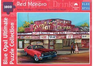Blue Opal 1000 Piece Jigsaw Puzzle - Jenny Sanders: Red Monaro