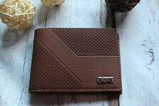 Balisi Men Brown High Quality Leather Bifold Wallet