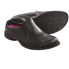 New Women`s Merrell Captiva Slides Leather Black US 7 MSRP$100