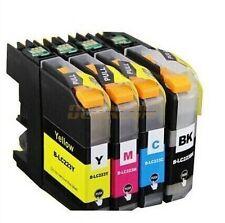 Pack 4 cartuchos de tinta compatible Brother LC223