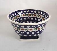 Geschenk Suppen - Salat - Müsli Schale Bunzlauer Keramik Handarbeit (eu1110)