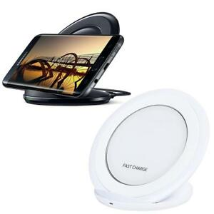Universal 2000mAh Qi Wireless Fast Charger Dock Phone Charging Pad Stand Station