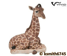 Vivid Arts Pet Pals BABY GIRAFFE resin wild zoo animal ornament  NEW 💥
