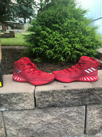 Adidas Crazy Explosive Boost 2017 Basketball Shoes Men's Size 8 Red
