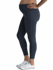 Grey Quality Pregnancy Leggings by Funmum Maternity Sizes Available 10 12 14 12