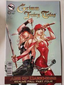 GRIMM FAIRY TALES Vol 1 #99 (2014) ZENESCOPE COMICS 1ST PRINT VARIANT COVER C