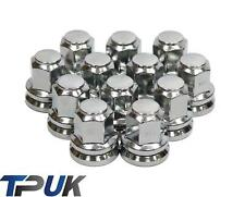 FORD TRANSIT SET OF 12 CHROME WHEEL NUTS ALLOY STEEL M14X2 MK6 MK7 2000 - 2014