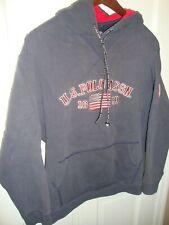 Vtg US Polo Assn Large Hoodie Sweatshirt Athletic Outdoor Long Sleeve Jacket 307