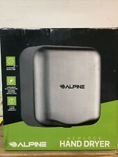 Alpine Industries Chrome Hemlock Commercial 120V Automatic Hand Dryer