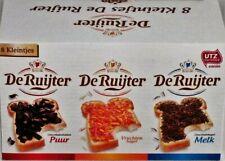 De Ruijter 8 Kleintjes Mini Box's (De Ruyter Hagelsag (sprinkels)Melk & Puur,...