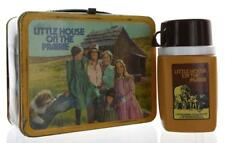 1978 Vintage Little House on the Prairie Metal Lunch Box with Thermos Set