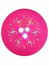 TRIXIE LIGHT UP GLOW BATTERY POWER DOG PUPPY NIGHT TIME WINTER FRISBEE DISC 3645