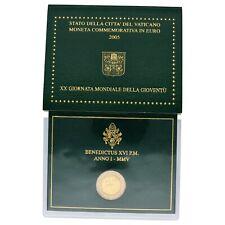 Vatican City - 2 Euro Coin - Benedictus XVI - UNC - 2005