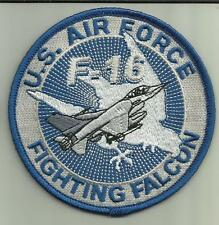 U.S.AIRFORCE F-16 FIGHTING FALCON AIRCRAFT PATCH USAF PILOT CREW AVIATION USA