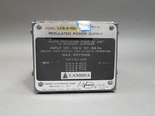 Lambda Regulated Power Supply LCS-A-100 - Used