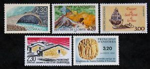 Sello Andorra - Yvert Y Tellier 5 Sellos De 1990N MNH (Cyn34) Stamp