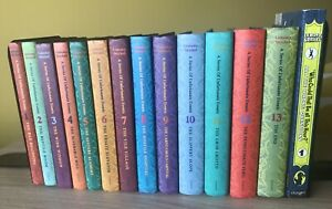 Lemony Snicket A Series Of Unfortunate Events Book 1-13 Set Collection Complete