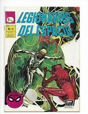 Legionarios Del Espacio No 11 1969 Spanish Legion Of Space Insect Man Cover!