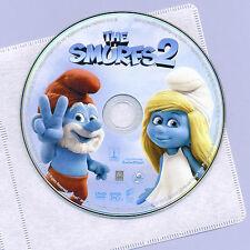 Smurfs 2 2013 PG animated family comedy movie DVD disc&sleeve, NO UV, Katy Perry