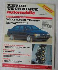Revue technique automobile RTA 524 1991 Volkswagen passat essence & diesel 1988