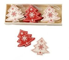 Heaven Sends Scandi Style Christmas Trees Decorations - Retro style Decorations