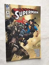 SUPERMAN nr 4  ed LION 2012  DC ORIGINALE 1^ ed.