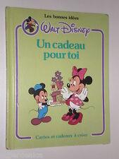 Mickey et Minnie Un CADEAU Pour TOI  DISNEY Carte et Cadeaux à CRÉER Activité