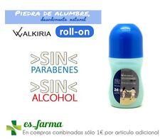 WALKIRIA BIO DEFENSE DESODORANTE PIEDRA DE ALUMBRE + ALOE VERA 50ML ROLL-ON