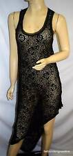 Stunning NICHOLAS The Label Asymetric Hemline Floral Lace Dress -  Size  8