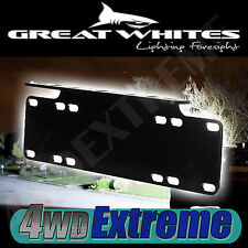 NUMBER PLATE MOUNTING BRACKET TO SUIT 9 LED GREAT WHITES SPOT LIGHTS L.E.D LIGHT