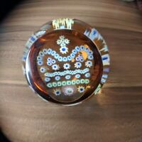 Caithness Gold Crown Jubilee Paperweight - Gorgeous!!! Limited Ed. 186/500