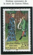 STAMP / TIMBRE FRANCE OBLITERE N° 2708 GASTON FEBUS