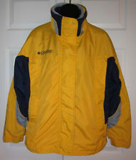 Columbia Wms Yellow /Blue 3 in 1 Jacket M