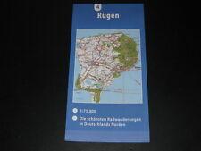 Fahrradkarte tour en CARTE radwanderungen ALLEMAGNE NORD : RUGEN (ALLEMAGNE)